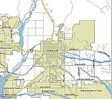 FEMA Flood Plain Comparison Map