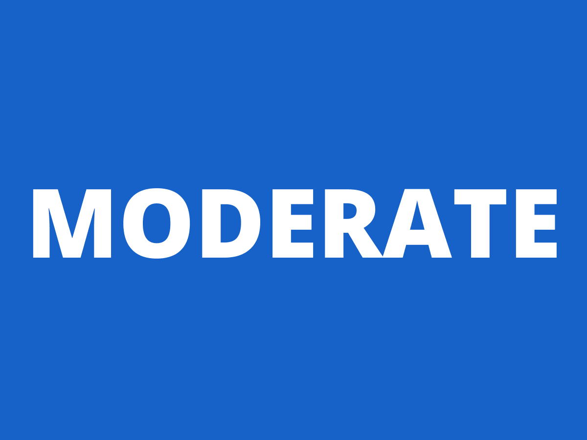 Current Level - Moderate